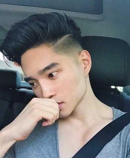 tóc nam cắt sát 2 bên - 9