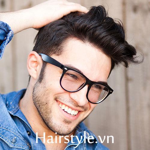 Kiểu tóc nam cho mặt dài 12