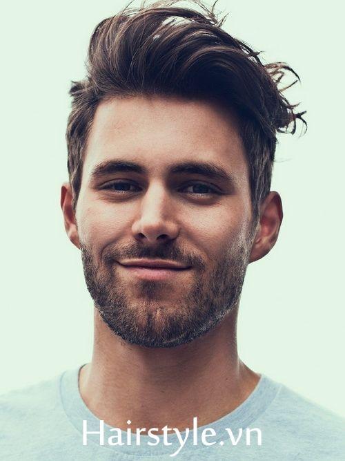 Kiểu tóc nam cho mặt dài 2