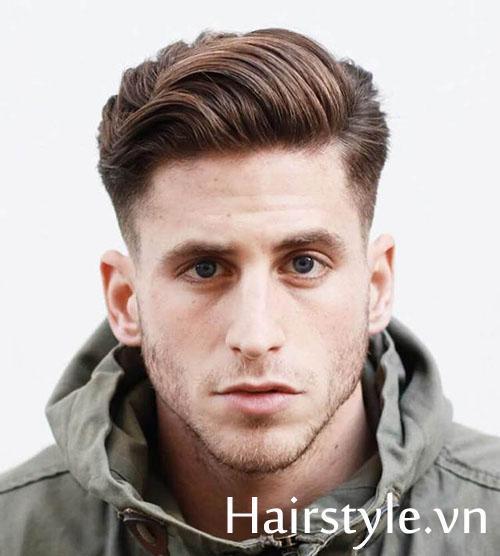 Kiểu tóc nam cho mặt dài 23