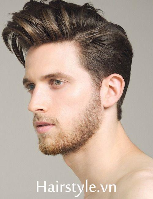 Kiểu tóc nam cho mặt dài 24