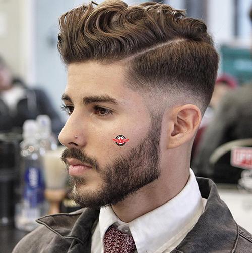 Kiểu tóc nam cho mặt dài 9