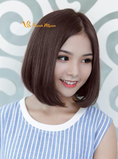 kiểu tóc ngắn uốn đuôi 13