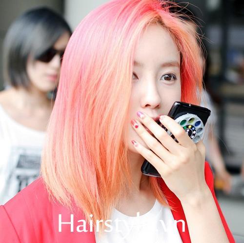 màu tóc đẹp 10