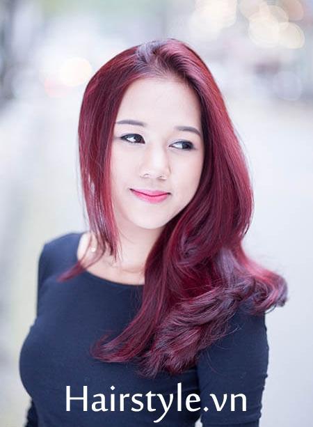 màu tóc đẹp 8