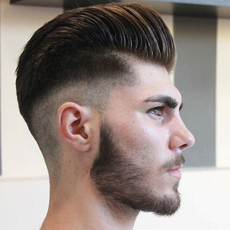 tóc nam cắt sát 2 bên - 2