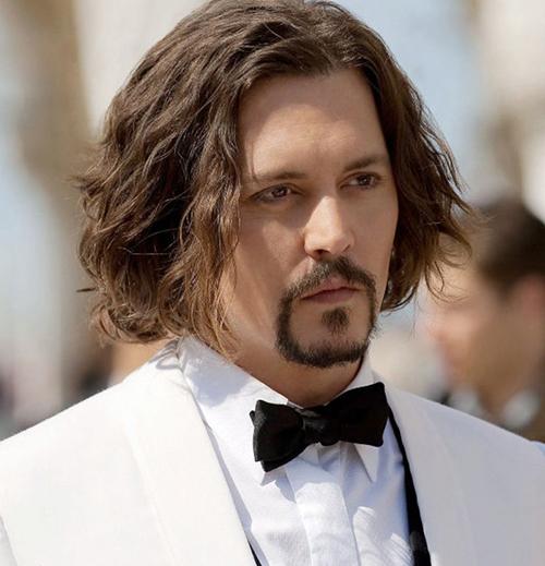 tóc nam dài