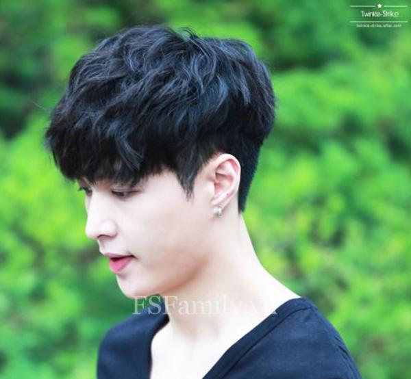 Kiểu tóc nam Hàn Quốc 2018 - 26