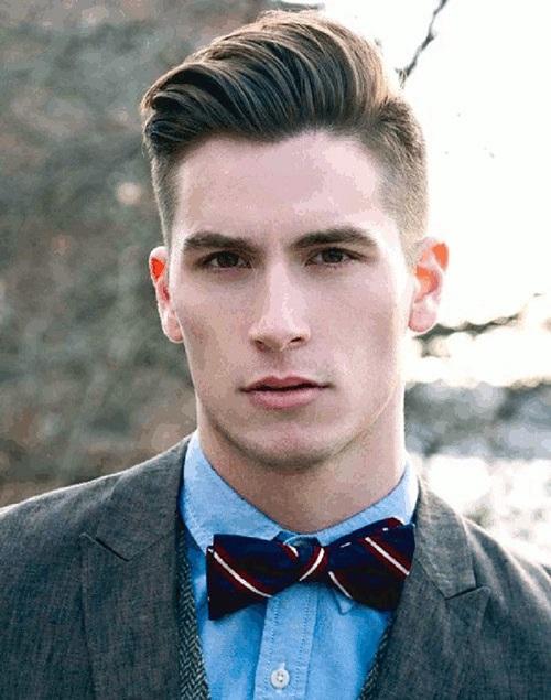 Kiểu tóc nam cho mặt dài 11