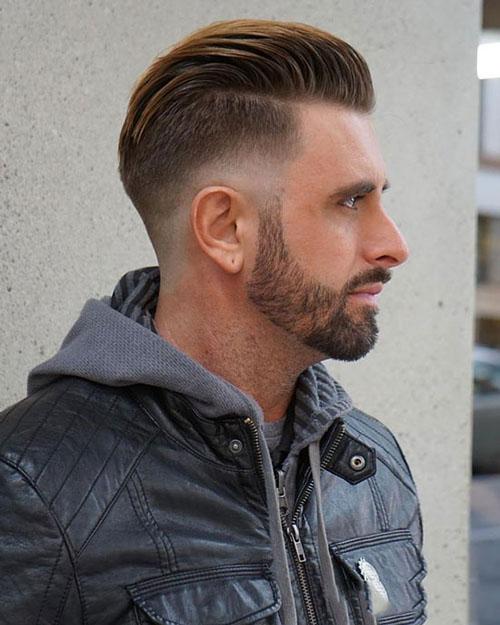 Kiểu tóc nam cho mặt dài 14
