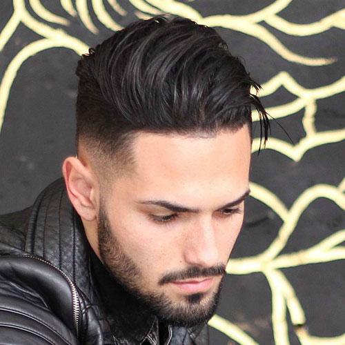 Kiểu tóc nam cho mặt dài 18