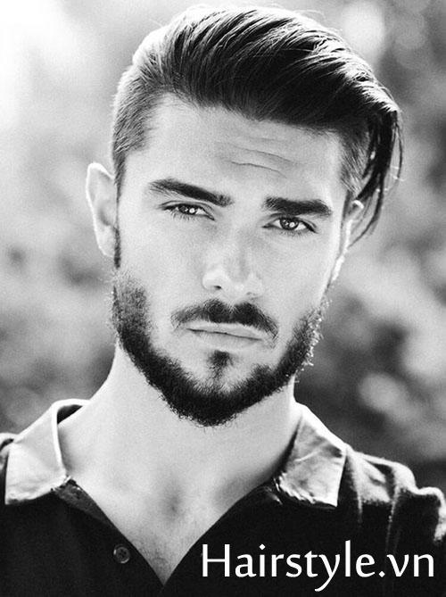Kiểu tóc nam cho mặt dài 20