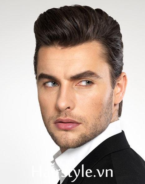Kiểu tóc nam cho mặt dài 27