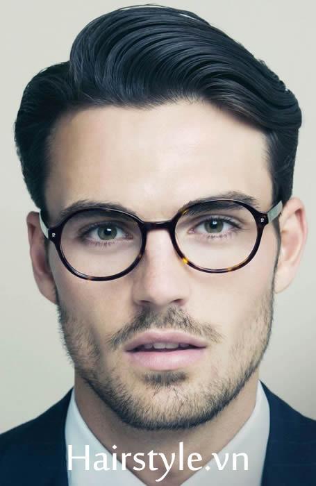 Kiểu tóc nam cho mặt dài 7