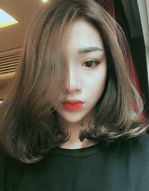 Kiểu tóc ngang vai cho mặt tròn đẹp 21
