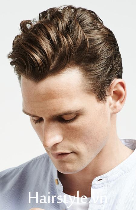 kiểu tóc nam cho mặt tròn 13