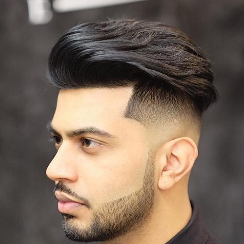 kiểu tóc nam cho mặt tròn 28
